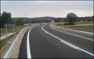 Acondicionamiento de la carretera CM-3118